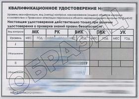 Обучение и аттестация ВИК на 1 и 2 уровень в России